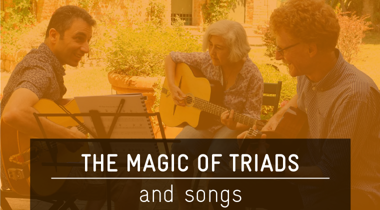 Song Package#1 - The Magic of Triads $189